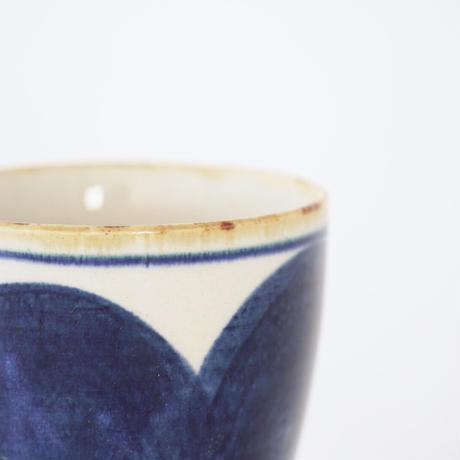 藍ブルー タンブラー 丸紋