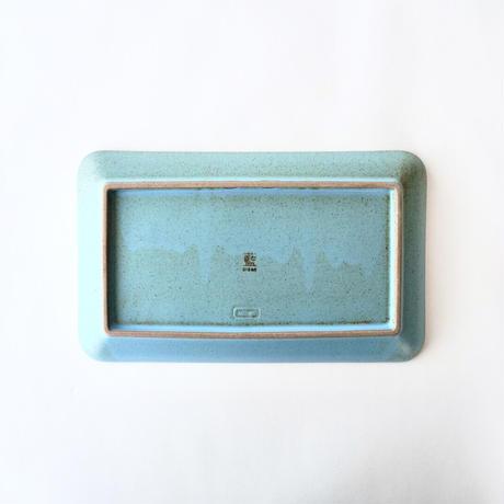 ブロンズ 長角皿 青銅