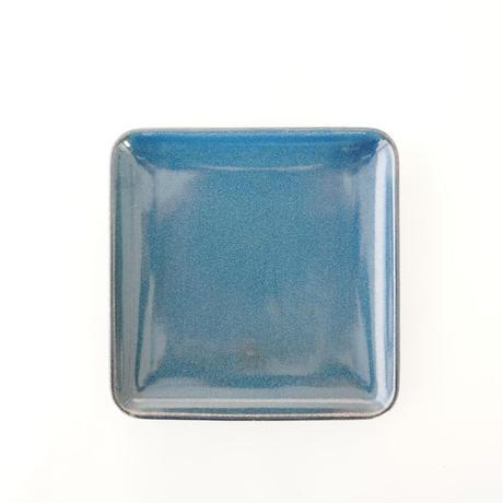 Furelu 正角皿 瑠璃