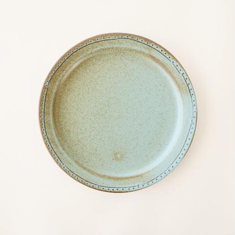 ブロンズ 18cmプレート 青銅