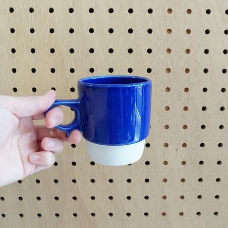 スタックスマグ 磁器 ブルー