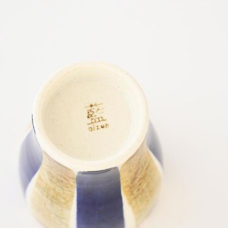 藍ブルー タンブラー 十草紋