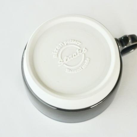 スタックススープマグ  磁器  ダークグレー