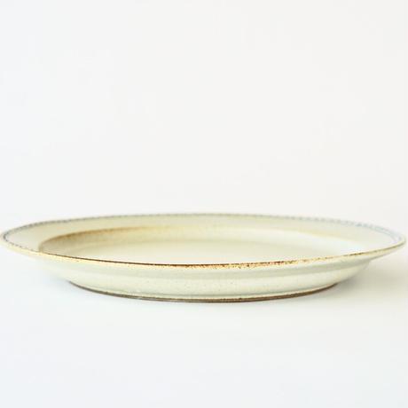 ブロンズ 24cmプレート 白銅
