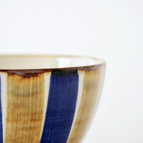 藍ブルー 丼ぶり 十草紋