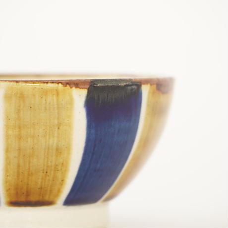 藍ブルー 小鉢 十草紋