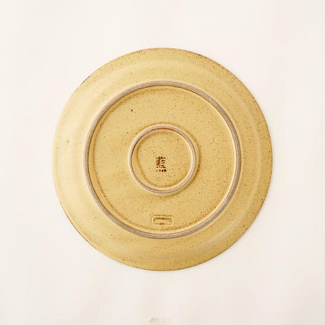 ブロンズ 18cmプレート 黄銅
