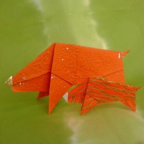 イノシシの折り紙セット