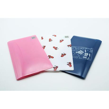 【3枚セット(白・ピンク・ネイビー)】あかべぇマルチケース フタ付き
