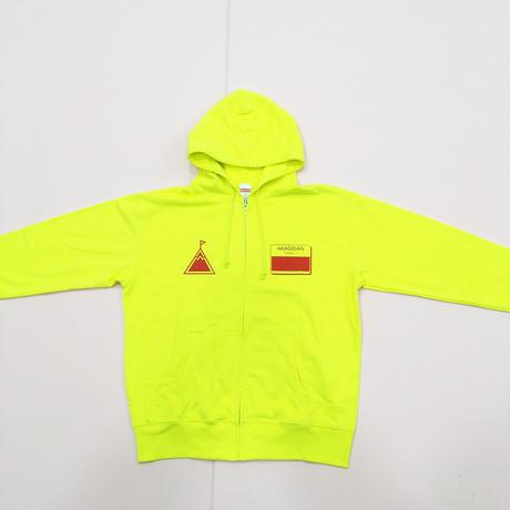 あかぎ団パーカー 2020 ver. (Yellow × Red)