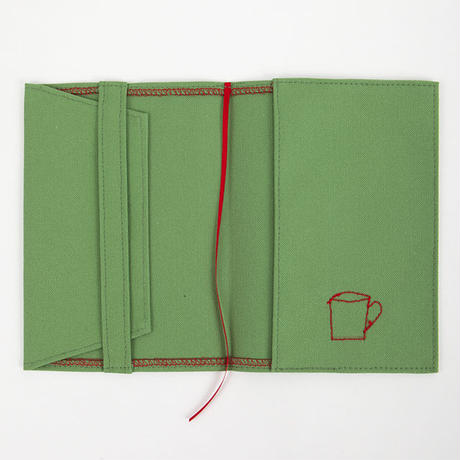 ブックカバー(文庫サイズ)グリーン