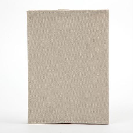 ブックカバー(文庫サイズ)アイボリー
