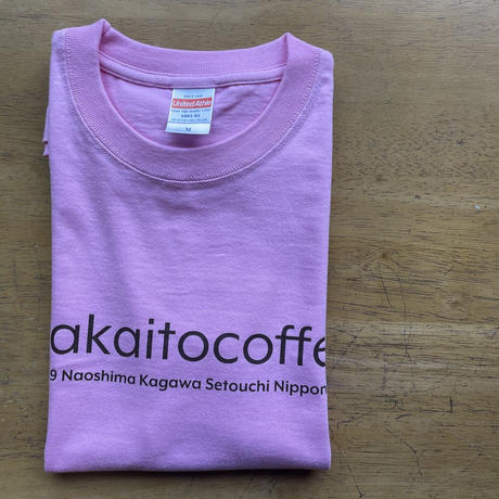makanai Tee  PINK アカイトコーヒーオリジナルTシャツ