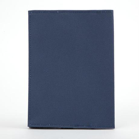 ブックカバー(文庫サイズ)スカイブルー