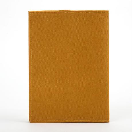 ブックカバー(文庫サイズ)キャメル