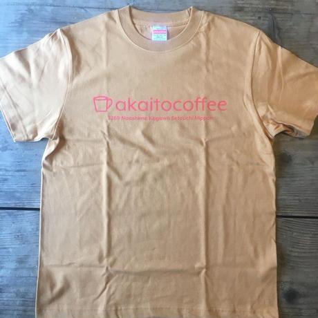 akaitocoffee makanai Tee|アカイトコーヒーオリジナルTシャツ