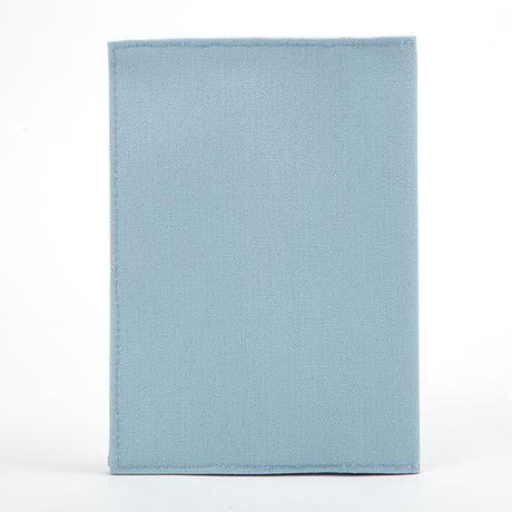 ブックカバー(文庫サイズ)サックス