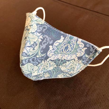 0-7 Vintage French fabric MASK (Art nouveau mask Number1)