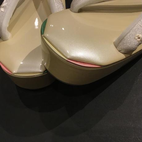 30 Zori (Chaussures de kimono/Kimono shoes) /M size