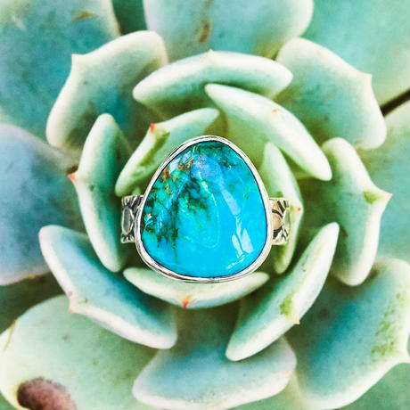 "Mystery turquoise jewelry ""MAÑA"""