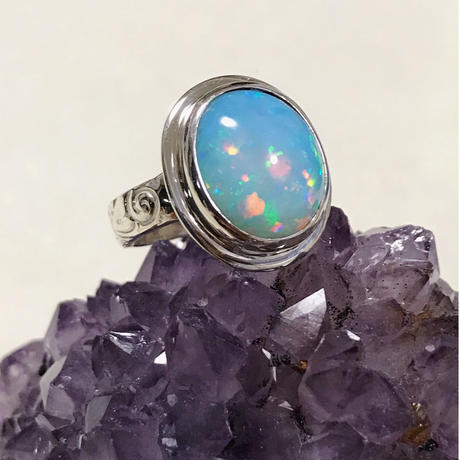 Brazilian rainbow Opal jewelry