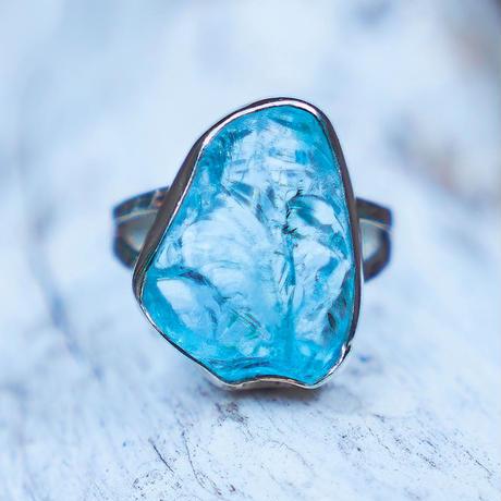 Aquamarine Ocean Blue WÃVY jewelry