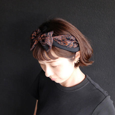 SS Botanical_brown/headband