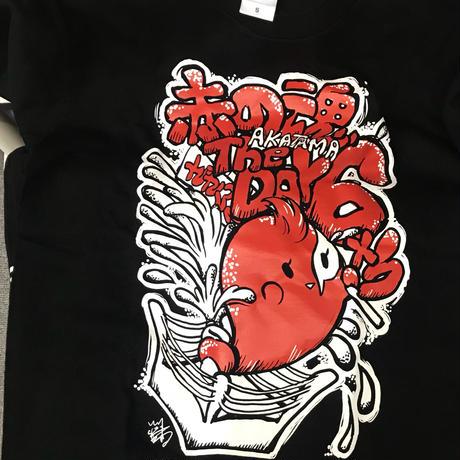 カサンドラ宮城デザイン  赤の魂6周年記念Tシャツ