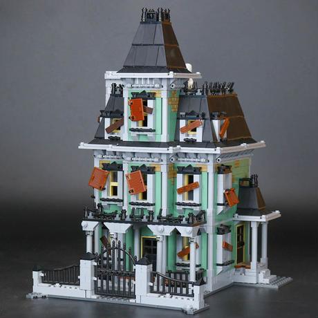 LEPIN社 2141ピース モンスターファイターズお化けハウス ハロウィン レゴブロック互換 LEGO互換