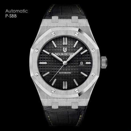 Ddun 腕時計 メンズ 自動機械式 レザーストラップ Ddun 腕時計 メンズ 自動機械式 レザーストラップ