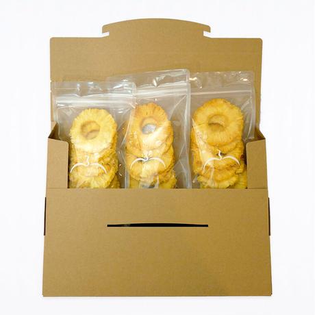 【送料無料】無砂糖・無添加 パイン(60g)3袋セット