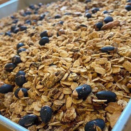 果燕麦 −黒糖きなこ−(190g)