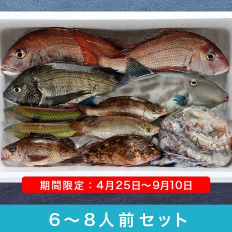 瀬戸内からの贈り物【6~8人前セット】