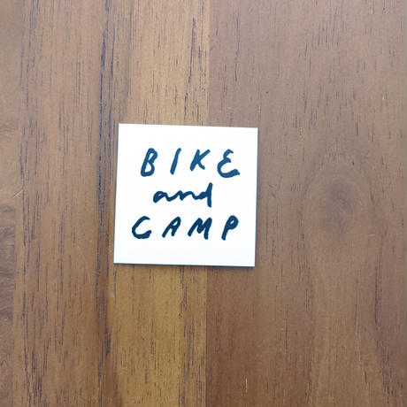 BIKE&CAMP Sticker