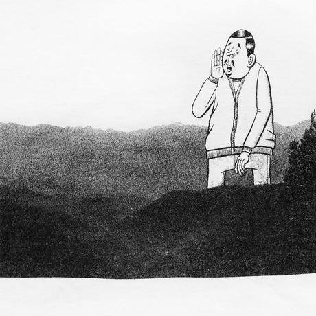 ESOWと川「川遊び」 tee (2021金沢編)  /  white
