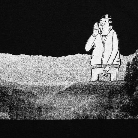 ESOWと川「川遊び」 tee (2021金沢編) /  black
