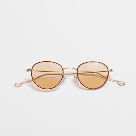 NATALIE sunglasses《ナタリー サングラス》Brown / Light Brown Lens