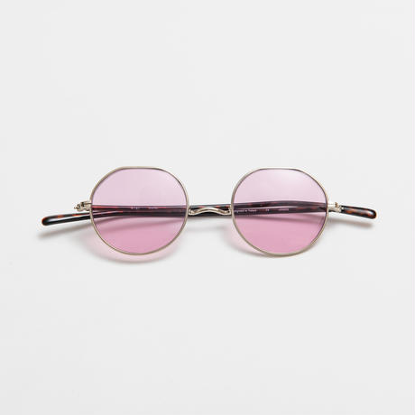 WELLER sunglasses 《ウェラー サングラス》Brown / Pink Lens
