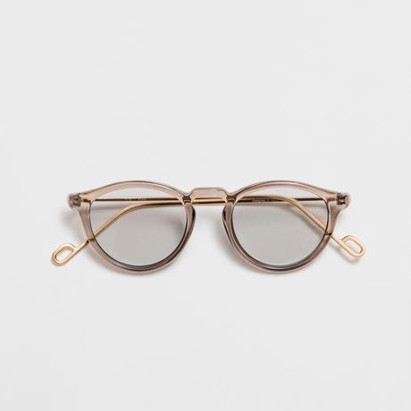 EVANS  sunglasses 《エバンス サングラス》Sherbet / Light Gray Lens