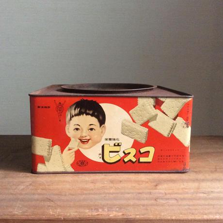 ビスコの菓子缶
