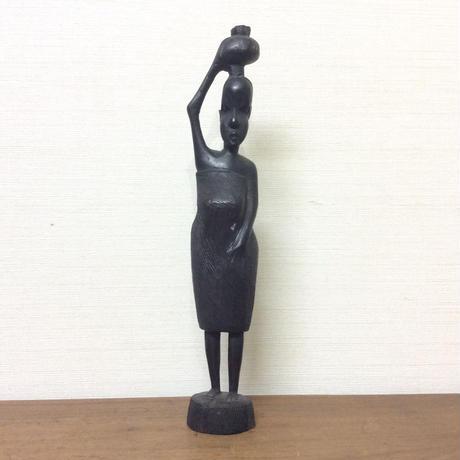 アフリカ木彫り人形