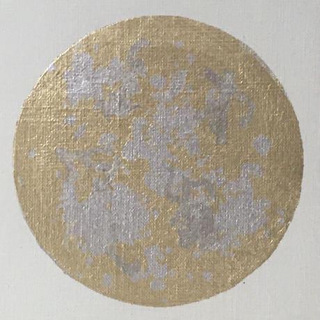 月 金と銀色