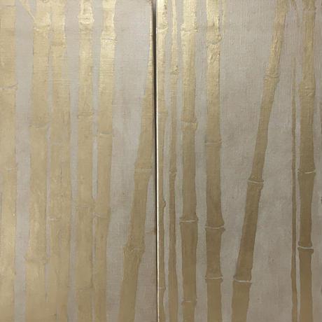 竹図2枚組