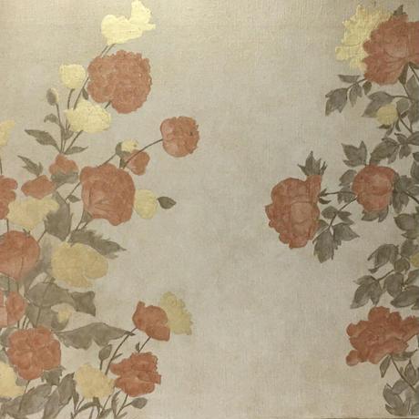 四季草花図 4