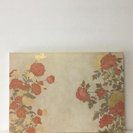 四季草花図 3
