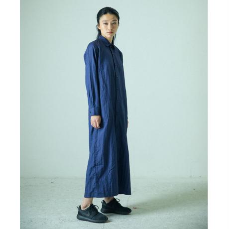 No.7  ロングシャツワンピース