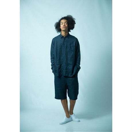 No.2021S6    台襟付きシャツ長袖