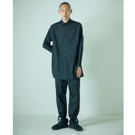 No3. ナイロン台襟付きシャツカラー