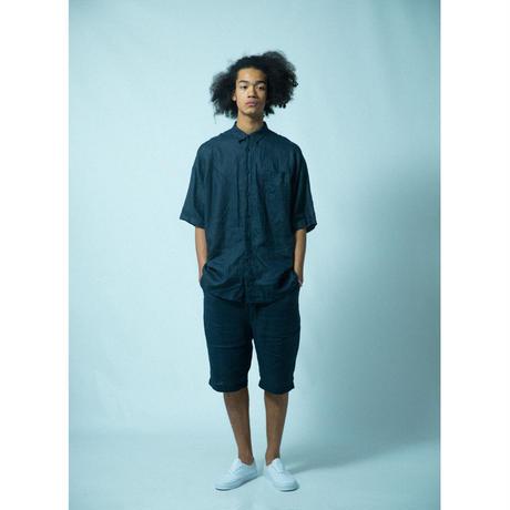 No.2021S7    台襟付きシャツ半袖