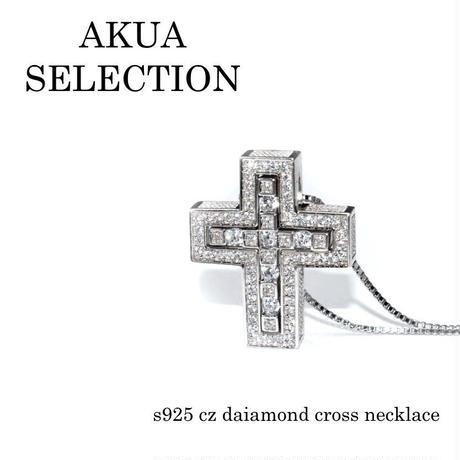 S925 separate cross necklace silver №4